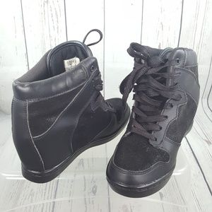 747f636dea2d Cute to the Core Wedge Sneakers 6.5